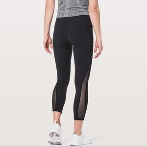 Lululemon Black Train Times 7/8 Pant